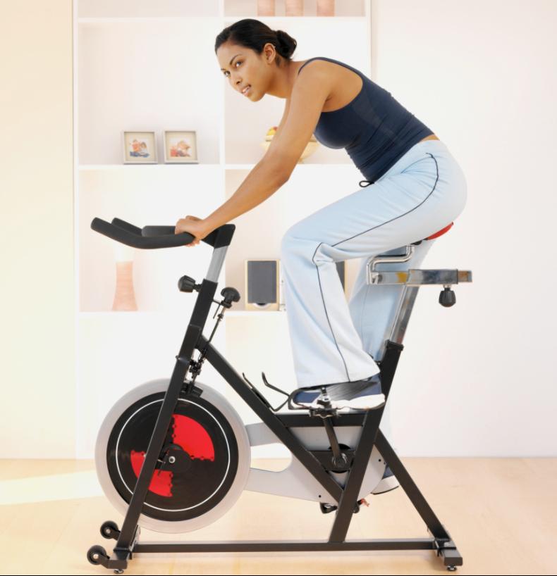 Exercise bike benefits stomach